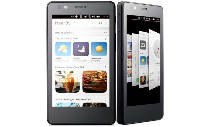Aquaris E4.5 Ubuntu phone scope