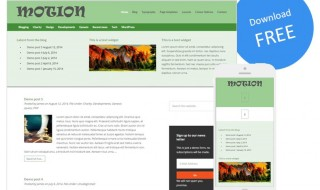 Homepage design image