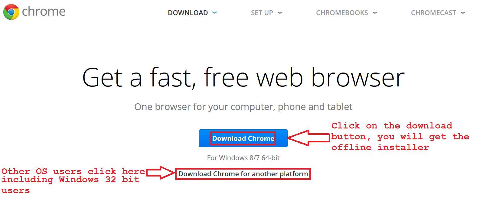 offline download