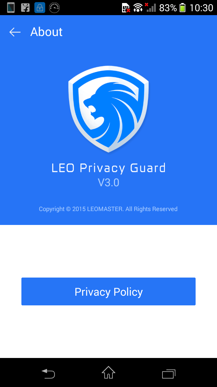 Leo Privacy Guard V3 0 Improve Or Boost Your Android