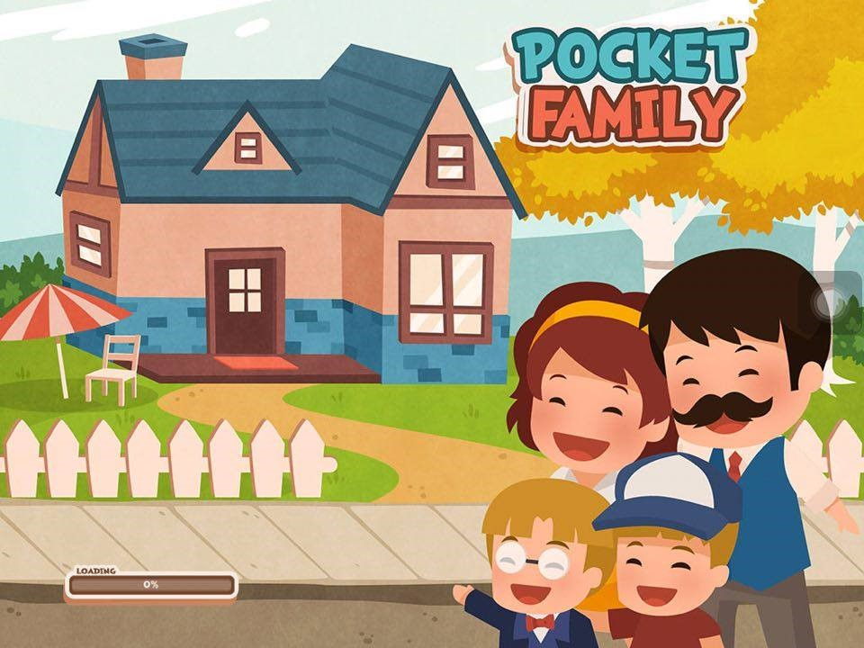 Pocket Family A Fun Way To Build Your House Iphone Game