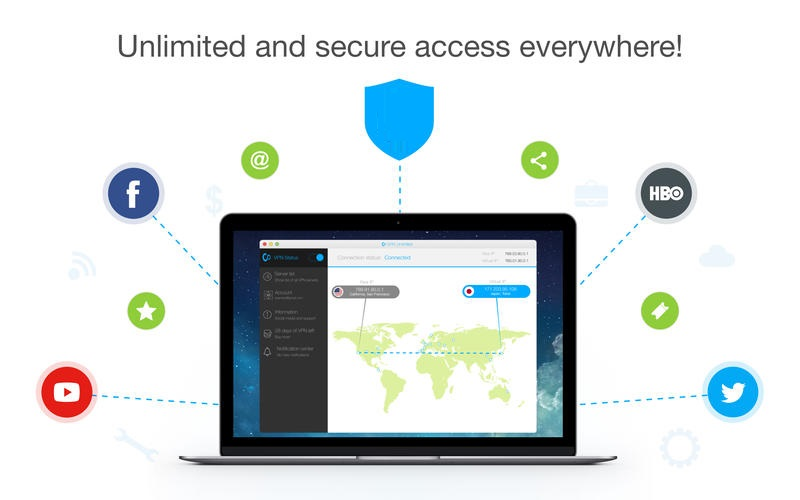 Best Free VPN For Macbook or MAC OS X Sierra US And Canada