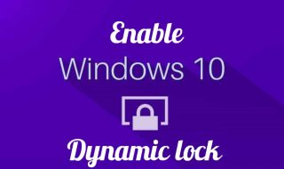 win10 dynamic lock