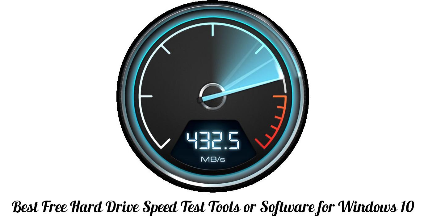 hdd speed testing
